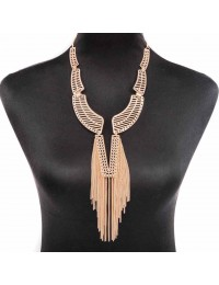 N433-collier frange style col