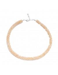 N726-Collier perles