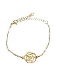 Bracelet en acier rose