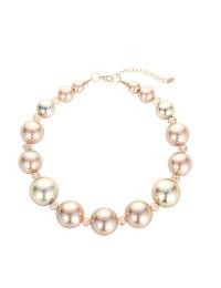 combinaison boucles d'oreilles bracelet chaîne de nacres classiques