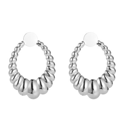 boucles d'oreilles spirales ovales 1