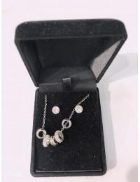 N125-parure collier pendentif